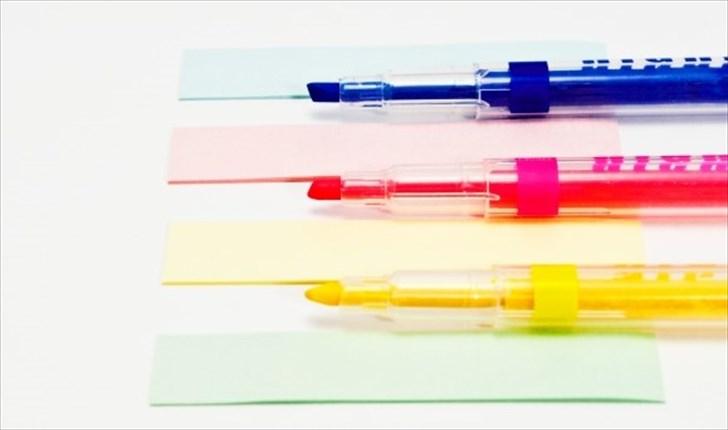 ストークとスワローで「蛍光ペン」と「ラインマーカー」を使う方法
