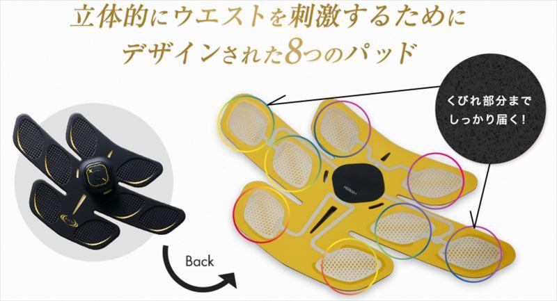 3Dshaperのパッド構造