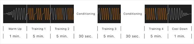 SIXPADのトレーニングプログラム